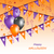 opknoping · vlaggen · ballonnen · halloween · partij · illustratie - stockfoto © smeagorl