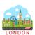 london england urban background stock photo © smeagorl