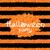 shine orange wallpaper for happy halloween party stock photo © smeagorl