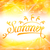 summer abstract background with text lettering sun and lens flare stock photo © smeagorl