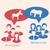 democrata · burro · republicano · elefante · campanha · 2012 - foto stock © smeagorl