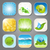 set different backgrounds for the app icons stock photo © smeagorl