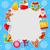 Natale · ghirlanda · icona · vacanze · decorazione · illustrazione - foto d'archivio © smeagorl