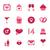 ontwerp · valentijnsdag · liefde · iconen · romantiek · communie - stockfoto © smeagorl