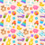seamless pattern with colorful children toys stock photo © smeagorl