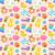 conjunto · crianças · brinquedos · grande · colorido · isolado - foto stock © smeagorl