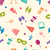 seamless pattern of party colorful icons wallpaper for holidays stock photo © smeagorl