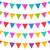 halloween · zaproszenie · wiszący · flagi · ilustracja · papieru - zdjęcia stock © smeagorl