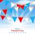 dag · Amerikaanse · vlag · vector · Blauw · Rood · vrijheid - stockfoto © smeagorl