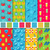 set seamless patterns with tourism objects and equipments can be used for wallpapers web page back stock photo © smeagorl