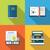 ebook · literatuur · iconen · collectie · computer · boek - stockfoto © smeagorl