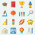 school colorful icons stock photo © smeagorl