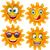 alegre · sol · mascote · óculos · de · sol · assinar - foto stock © smeagorl