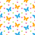 résumé · printemps · Rainbow · papillons · illustration · papier - photo stock © smeagorl