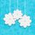 azul · quadro · flocos · de · neve · papel · neve - foto stock © smeagorl