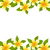 amarelo · flor · fronteira · natureza · luz - foto stock © smeagorl