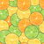 seamless pattern with oranges lemons and limes stock photo © smeagorl