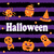 halloween party banner with shine orange traditional icons stock photo © smeagorl