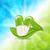 natuurlijke · medische · pil · groene · bladeren · illustratie · Blauw - stockfoto © smeagorl