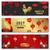 китайский · петух · Новый · год · плакат · зима · праздник - Сток-фото © smeagorl