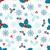 floral · modèle · nature · fond · hiver - photo stock © smeagorl