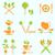 современных · вектора · набор · здорового · Экологически · чистые · продукты · питания · Этикетки - Сток-фото © smeagorl
