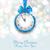 capodanno · mezzanotte · illustrazione · clock · rami - foto d'archivio © smeagorl
