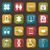 szett · színes · orvosi · ikonok · web · design · illusztráció - stock fotó © smeagorl