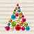 kerstboom · kleurrijk · houten · illustratie · textuur - stockfoto © smeagorl