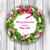 christmas wreath with balls new year and christmas decoration stock photo © smeagorl