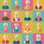 avatar · vector · gezichten · 3D · hoofd - stockfoto © smeagorl