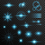 ayarlamak · şeffaf · ışıklar · etki · parti - stok fotoğraf © smeagorl