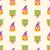 halloween seamless pattern owl and pumpkin stock photo © smeagorl
