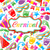 feestelijk · behang · carnaval · partij · kleurrijk · iconen - stockfoto © smeagorl