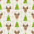 鹿 · 頭 · シルエット · 黒 · ピンク - ストックフォト © smeagorl