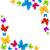 abstrato · primavera · arco-íris · borboletas · ilustração · papel - foto stock © smeagorl