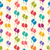 seamless pattern colorful balloons for holiday celebration event stock photo © smeagorl