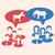 vita · illusztráció · szamár · elefánt · szimbólumok · szavazás - stock fotó © smeagorl
