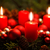 advent wreath with 3 burning candles stock photo © smileus