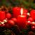 Natale · candela · brucia · evergreen · buio - foto d'archivio © smileus