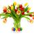 gorgeous bouquet of tulips in a vase stock photo © smileus