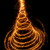nice christmas tree drawn with sparkling light stock photo © smileus