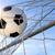 football goal with sun and blue sky stock photo © smileus