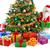 papai · noel · presentes · natal · saco · casa · homem - foto stock © smileus