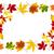 hojas · de · otoño · colorido · brillante · fondo · naranja · rojo - foto stock © smileus