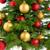 albero · di · natale · decorato · rosso · gingillo · impiccagione · Natale - foto d'archivio © smileus