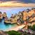 のどかな · ビーチ · 風景 · ポルトガル · 空 · 自然 - ストックフォト © smileus