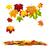 outono · queda · colorido · bordo · folhas · voador - foto stock © smileus