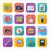 flat icons for web design stock photo © smoki