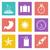 color icons for web design set 29 stock photo © smoki